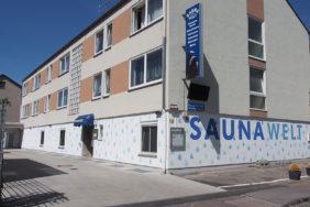 Saunawelt Augsburg von außen